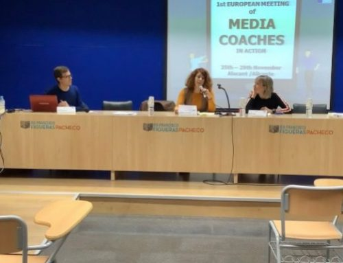 """EUROPEAN MEETING OF MEDIA COACHES IN ACTION"" (Del 25 al 29 de noviembre)"